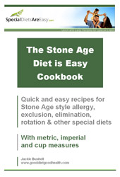 The Stone Age Diet is Easy Cookbook
